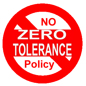 a study on zero tolerance policy While the policy has resulted in an increase in criminal prosecutions, the so-called zero-tolerance as implemented continued to fall far short of the reality on the ground during may southwest border apprehensions continued to dwarf the number of criminal prosecutions.