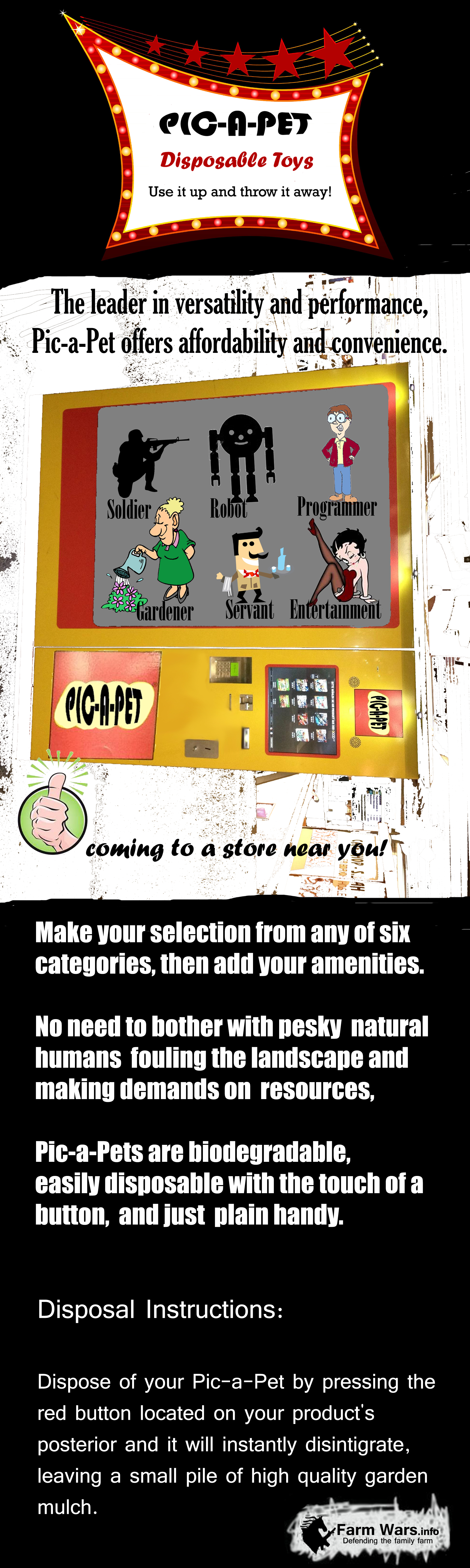 PicaPet Vending Machine