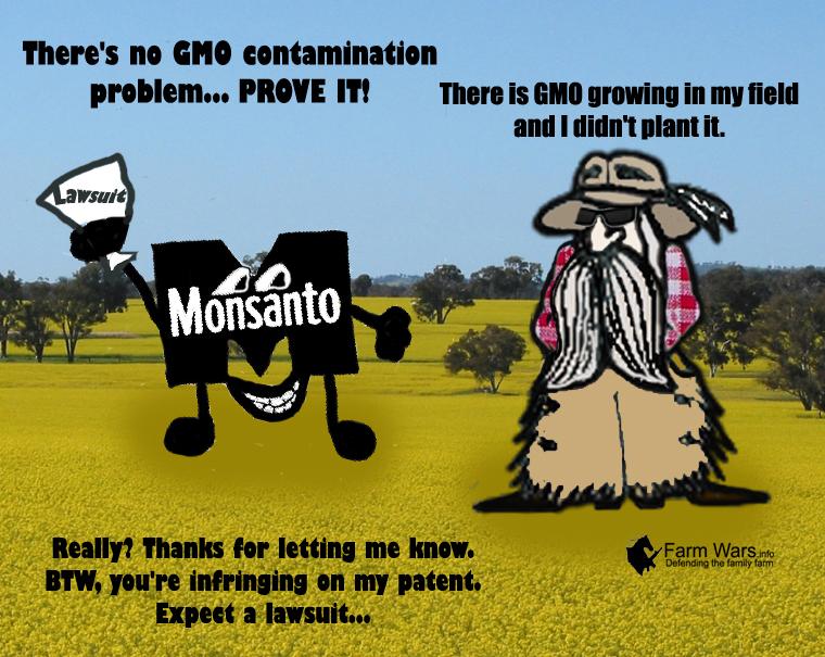 GMO Contamination Dusty