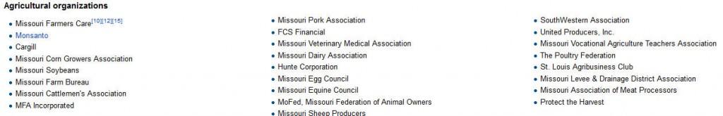 missouri farm bill supporters