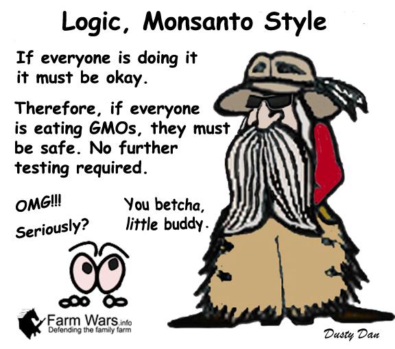 Dusty Monsanto Logic