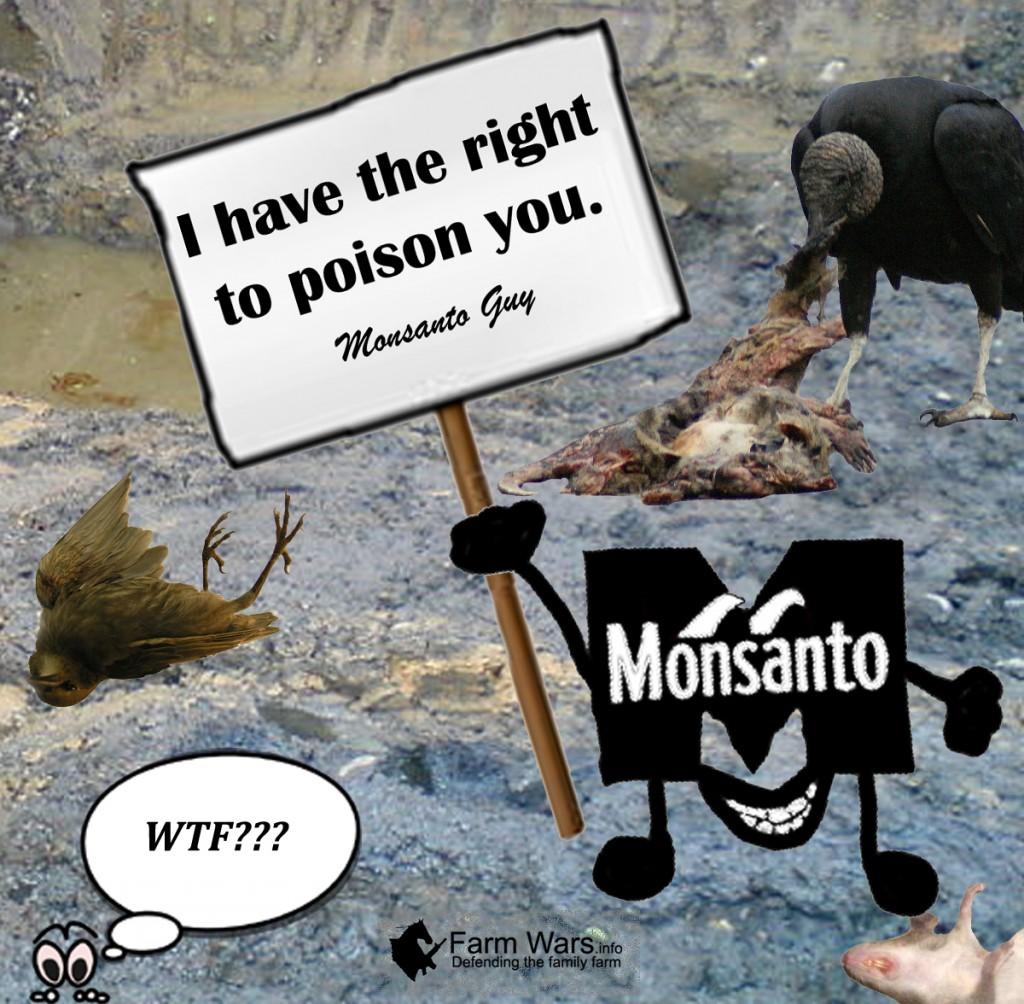 Monsanto right to poison copy
