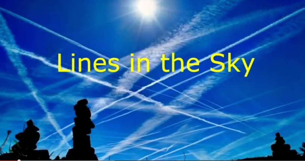 lines in the sky