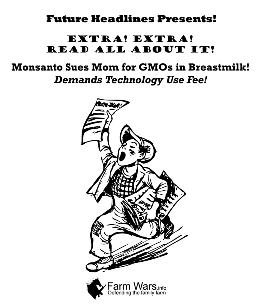 Monsanto Sues Mom